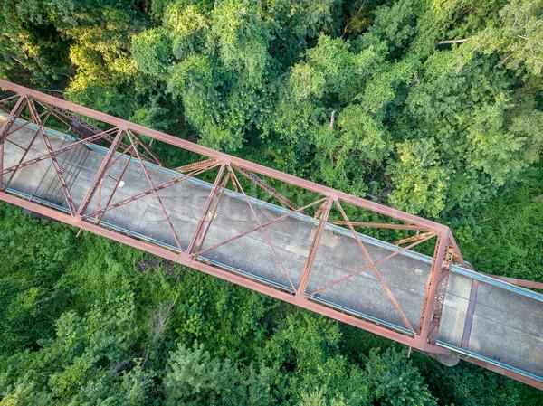 Old bridge aerial view Stock photo © PixelsAway