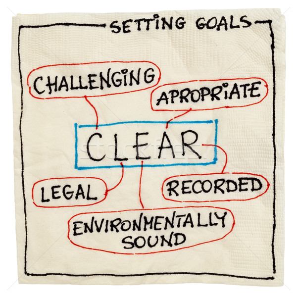 clear goal setting concept Stock photo © PixelsAway