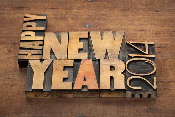 Happy New Year 2014  Stock photo © PixelsAway