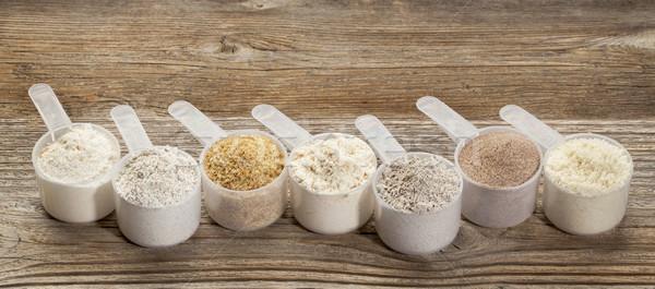 gluten free flours Stock photo © PixelsAway