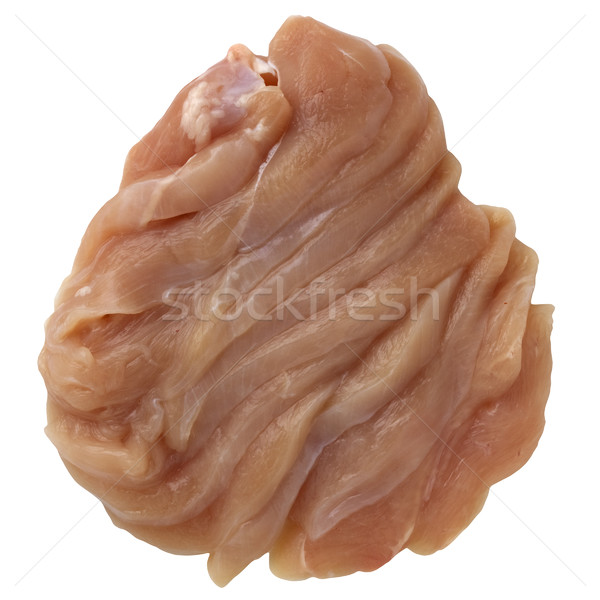 chicken breast sliced for a stir fry Stock photo © PixelsAway