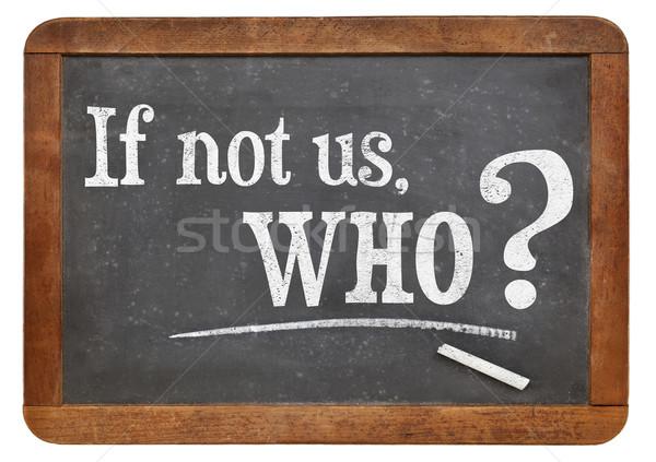 しない 質問 ヴィンテージ 黒板 孤立した 白 ストックフォト © PixelsAway