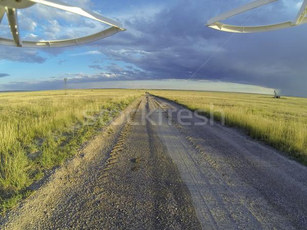 road in Pawnee Grassland Stock photo © PixelsAway