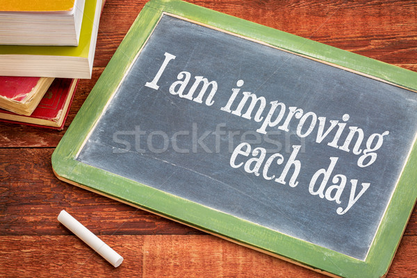 I am improving each day Stock photo © PixelsAway