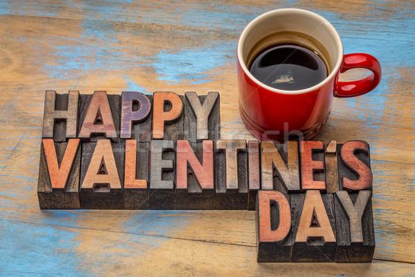 Happy Valentines Day Stock photo © PixelsAway