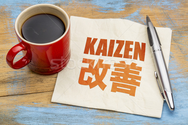 Kaizen -  continuous improvement concept Stock photo © PixelsAway