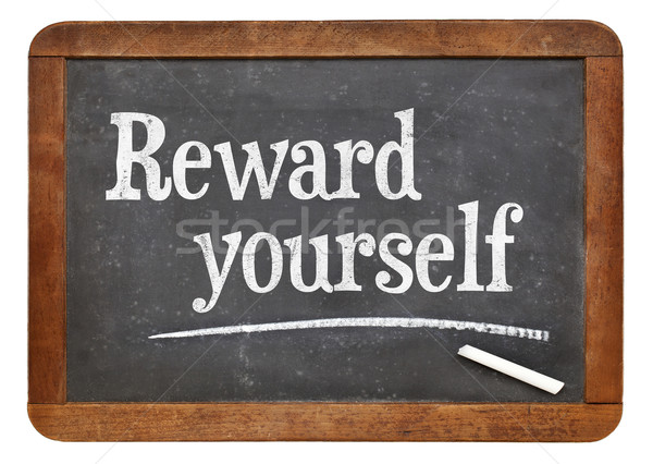Reward yourself Stock photo © PixelsAway