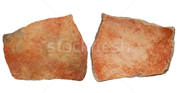 Anasazi clay pottery shard Stock photo © PixelsAway
