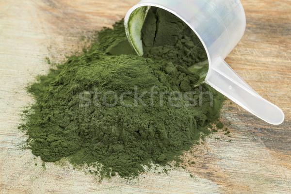spirulina powder scoop Stock photo © PixelsAway