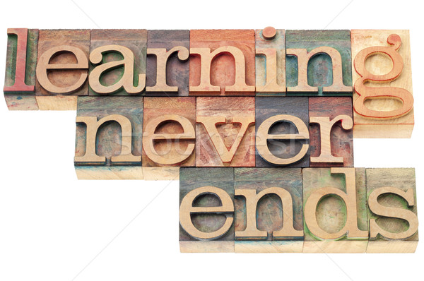 learning never ends Stock photo © PixelsAway