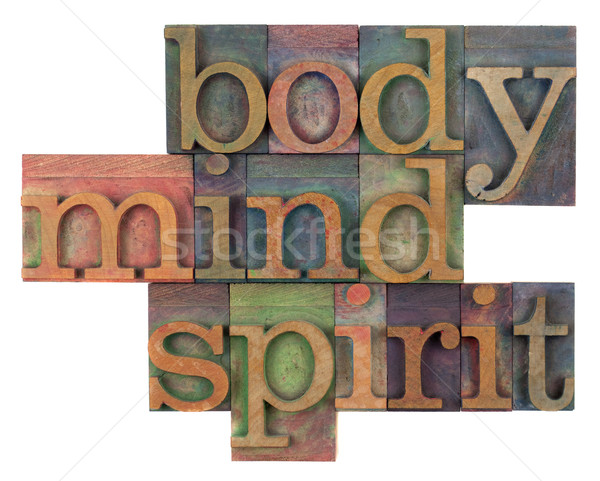 body, mind and spirit concept Stock photo © PixelsAway