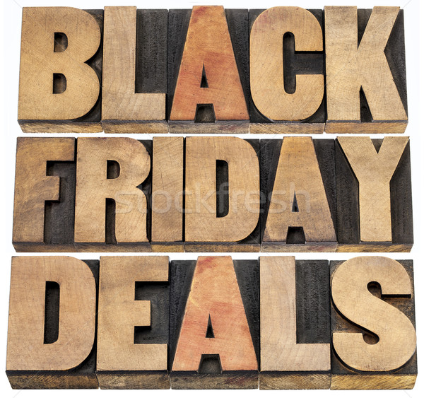 Foto stock: Black · friday · dia · ação · de · graças · Estados · Unidos