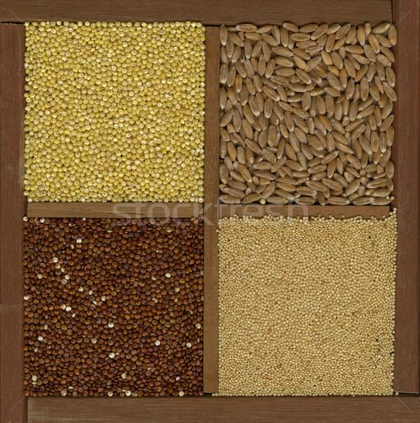 millet. spelt, amaranth, quinoa grains Stock photo © PixelsAway
