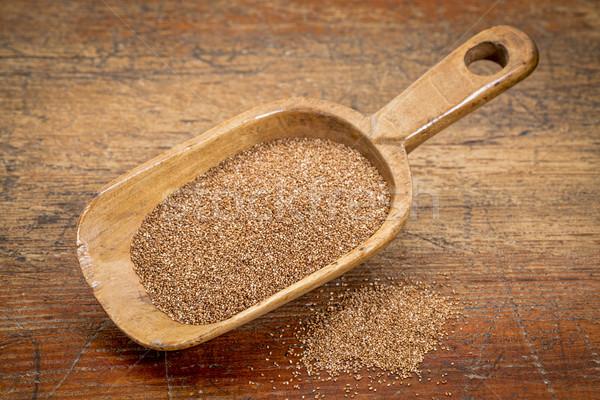 зерна деревенский черпать Гранж Сток-фото © PixelsAway