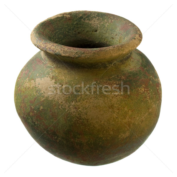 small rough clay plant pot  Stock photo © PixelsAway