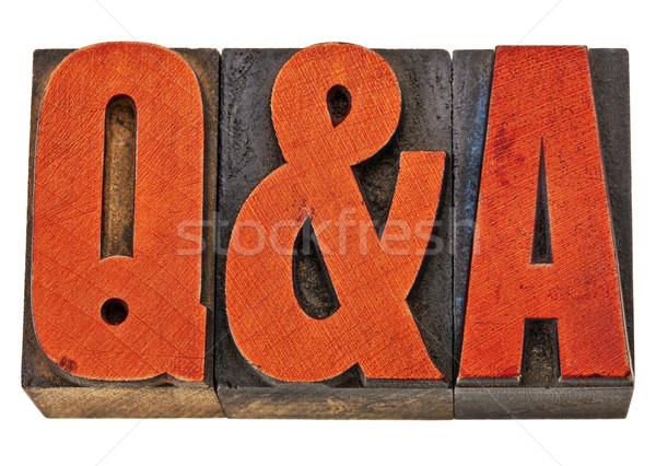 questions and answers - Q&A Stock photo © PixelsAway