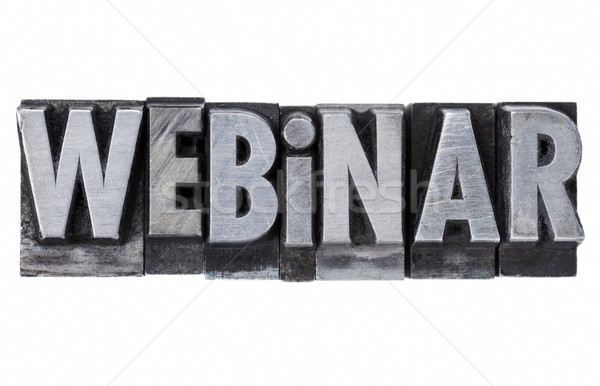webinar - internet education concept Stock photo © PixelsAway