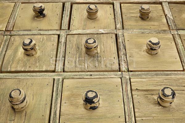 rustic drawer cabinet Stock photo © PixelsAway