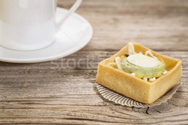 mini tart with espresso coffee Stock photo © PixelsAway