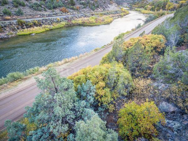 Colorado rio árvore Foto stock © PixelsAway