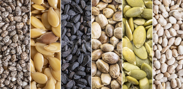 healthy seeds collection Stock photo © PixelsAway
