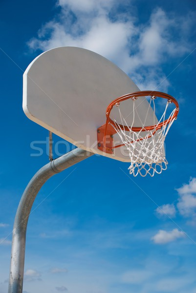 Basketball Hoop and Standard Stock photo © pixelsnap