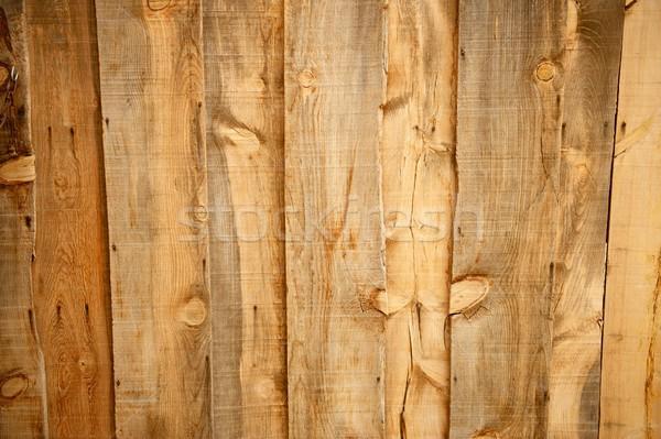 Régi fa öreg fából készült gabona együtt rozsdás Stock fotó © pixelsnap