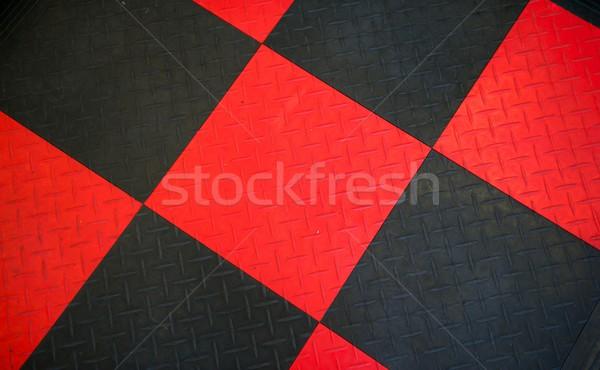 Fekete gumi piros minta Stock fotó © pixelsnap
