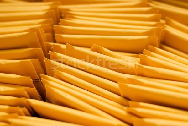 Köteg szállítás posta hajó posta csomagolás Stock fotó © pixelsnap