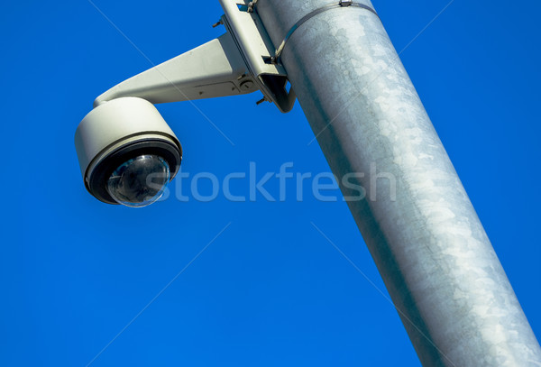 security CCTV camera or surveillance system in office building Stock photo © pixinoo