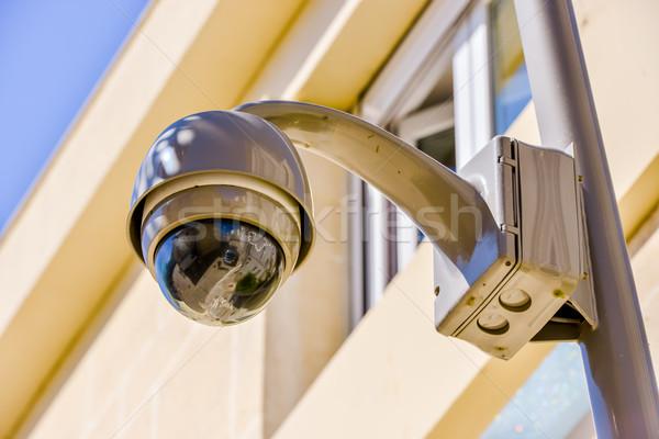 безопасности кабельное телевидение камеры наблюдение офисное здание Сток-фото © pixinoo