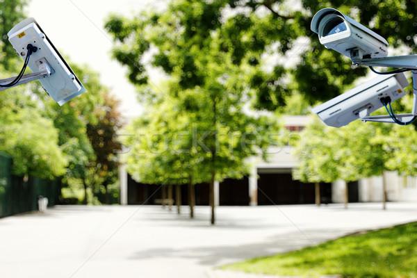 Telecamera di sicurezza sicurezza scuola video kid criminalità Foto d'archivio © pixinoo