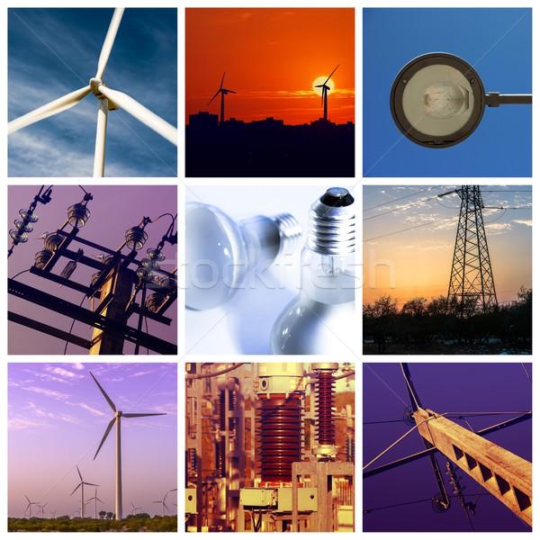 Power and energy concepts Stock photo © pixinoo