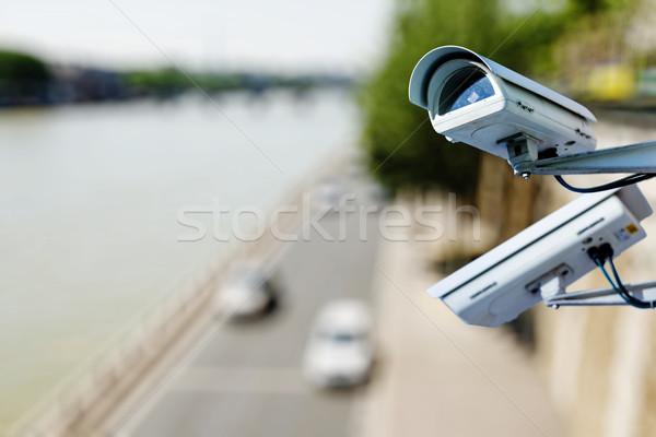 наблюдение камеры дороги видео скорости Сток-фото © pixinoo