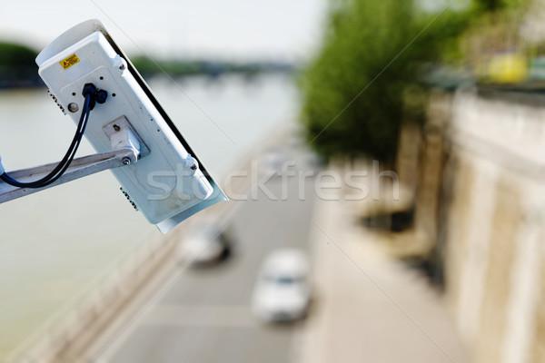Kamera üzerinde yol video hızlandırmak Stok fotoğraf © pixinoo