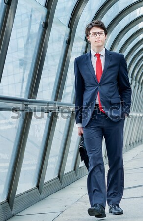 Stock fotó: Igazgató · dinamikus · üzleti · út · férfi · munka · sétál