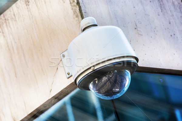 Telecamera di sicurezza urbana video strada sicurezza circuito Foto d'archivio © pixinoo