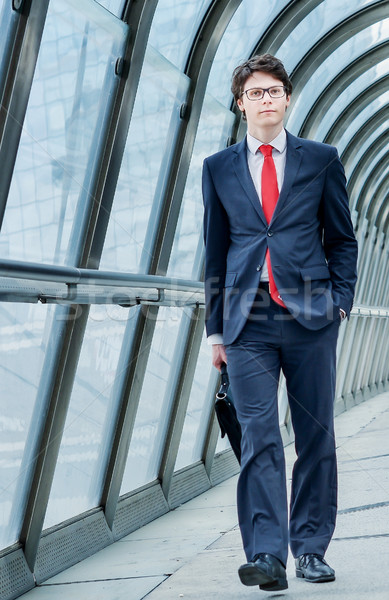 Junior executive dynamic in business trip Stock photo © pixinoo