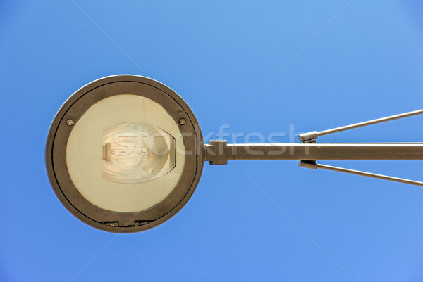 Lamppost during the day Stock photo © pixinoo