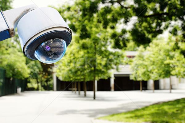 Biztonsági kamera biztonság iskola videó gyerek bűnözés Stock fotó © pixinoo
