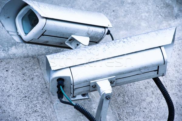 security camera and urban video Stock photo © pixinoo