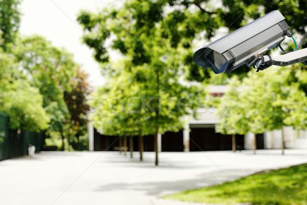Aparatu bezpieczeństwa bezpieczeństwa szkoły wideo dziecko przestępczości Zdjęcia stock © pixinoo