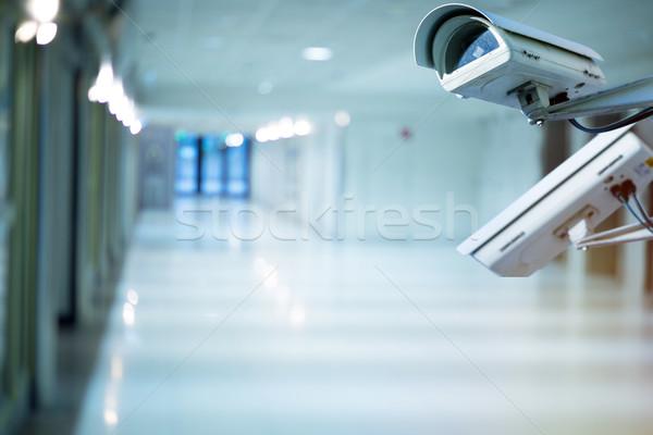security camera and urban video indoors Stock photo © pixinoo