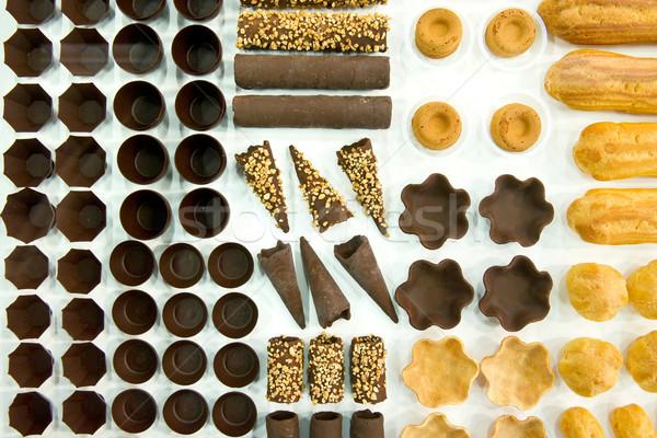 Tészta minta főzés szakács pék forma Stock fotó © pixpack