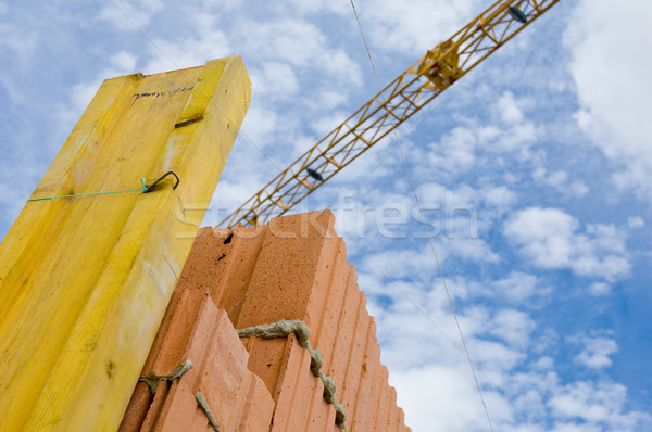 On a construction site Stock photo © pixpack