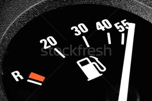 Carburant indicateur voiture trafic instrument essence Photo stock © pixpack