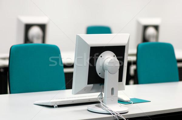 コンピュータ セミナー ルーム ストックフォト © pixpack