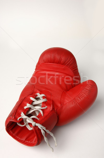 Red boxing glove Stock photo © pixpack