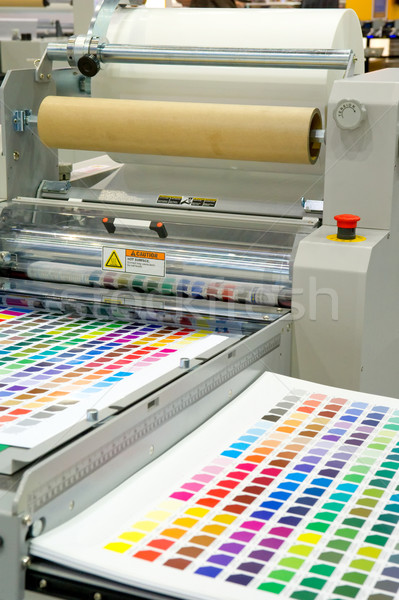 Printing machine Stock photo © pixpack