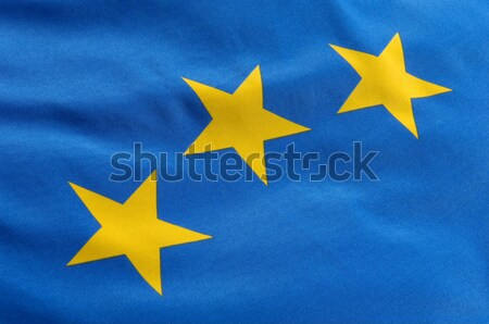 европейский флаг синий желтый Сток-фото © pixpack